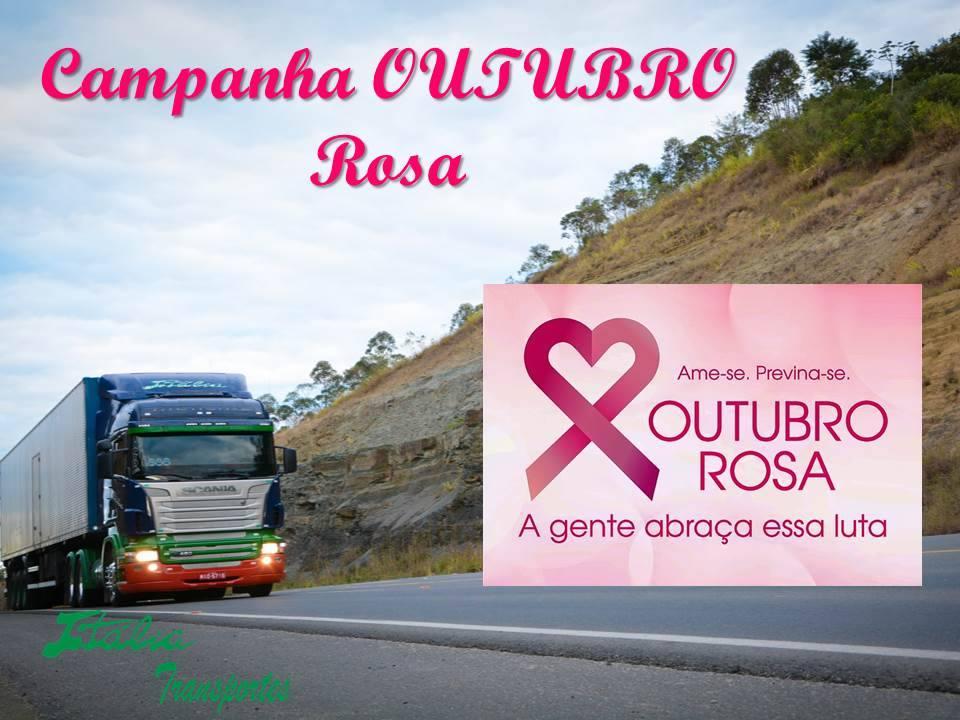 Outubro Rosa -  Participe Você Também.
